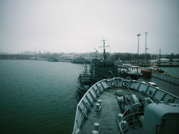 Admiral Pitka in the Naval Base Navy Ship Marine Vscocam Lightroom
