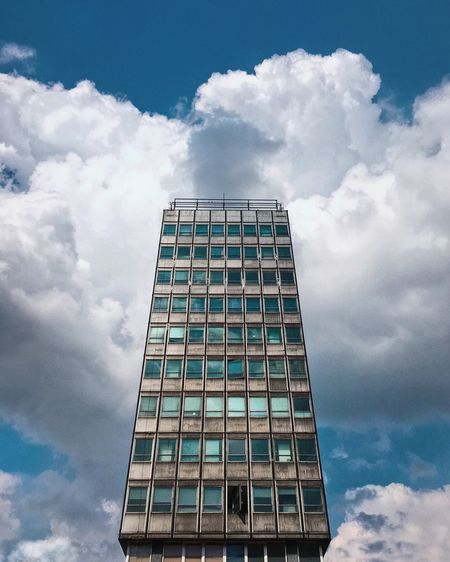 Tower The Architect - 2018 EyeEm Awards Cloud - Sky Sky Built Structure Pattern Office Building Exterior