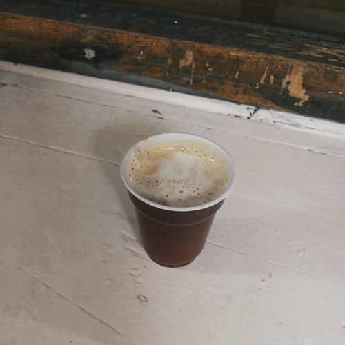 Drink High Angle View Food And Drink Refreshment No People Freshness Close-up Day Outdoors Latte Cappuccino Coffee Coffee Break