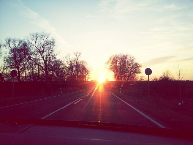 When The Sun Goes Down..♥