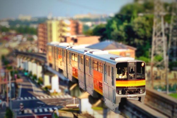 Railway Train Monorail  いい仕事が出来ました。コレに乗って帰ります。