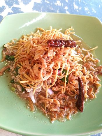 Little spicy crisp fried noodles @ JJ market. EyeEm Selects Food No People Close-up Ready-to-eat Freshness Indoors  Day ThaiFoodGoodTaste Creative Food Yummy