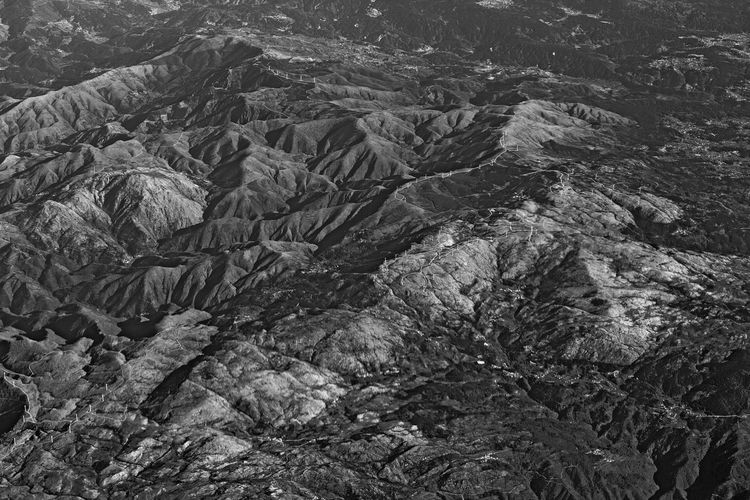 Line and shapes on mountain, Spain. SPAIN Vein Backgrounds Beauty In Nature Blackandwhite Close-up Day Geology High Angle View Landscape Lines And Shapes Mountain Nature No People Outdoors Rock - Object Rough Scenics Textured  Tranquil Scene Tranquility