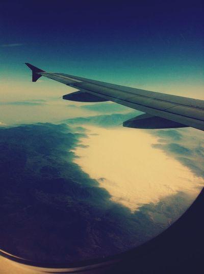 From An Airplane Window First Eyeem Photo