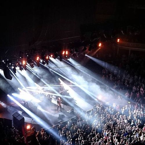 OMD performing @ the Royal Albert Hall.. Omd RoyalAlbertHall London Dazzleships Architectureandmorality Live Music LiveMusic Gig Concert Stage Band Lighting Crowd May ICAN XPERIA Sonyxperia Capture Snapshot