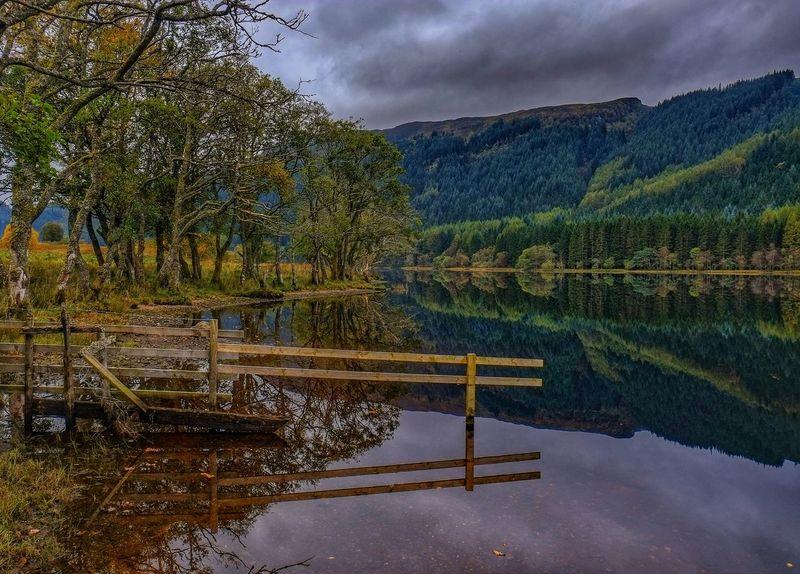 Taking Photos Scotland Fujifilm_xseries Loch Chon Fujifilmxe1 Water Reflections