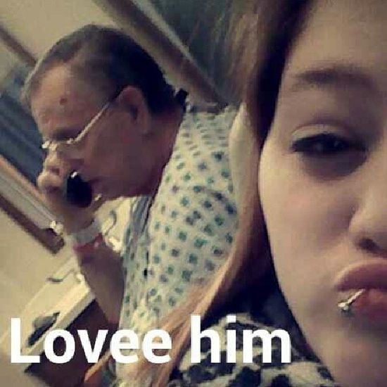 This man is my best friend. I pray every night and day he can come home ♥ Comehome Please Lovehim Cuties oohkillem grandpa bestfriend hospital praying