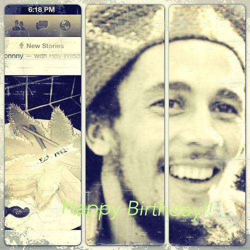 Happy Birthday!!! Bob. Marley