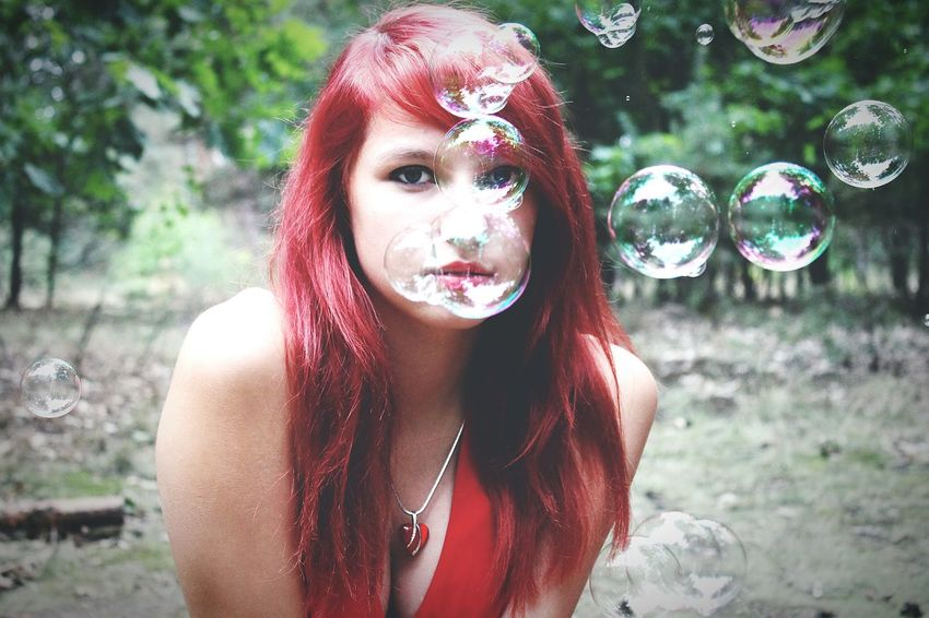 Professionalphotography Bubbles Taking Photos Model Fotoshooting Hübsch Amazing Love Red Me