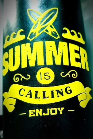 Summer time sippin'. Summertime