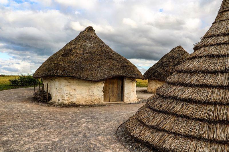 Ancient Building Ancient Civilization Building Exterior History Museum No People Old Farmhouse Scotland Scotland History Scotland 💕 Thatched Roof