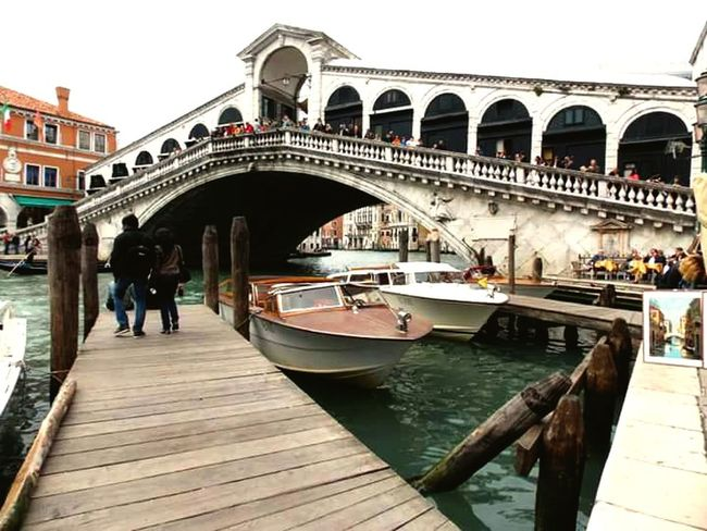 Taking Photos Enjoying Life Relaxing Gunter Italia Venezia Ponte Di Rialto