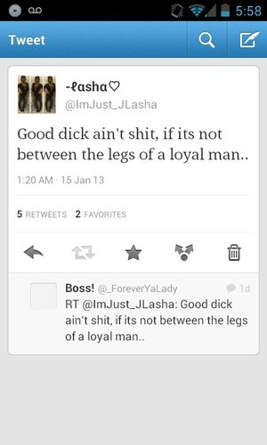 Hope This Didnt Sound Hoe-ish But I Was Speakin Real Shit!!