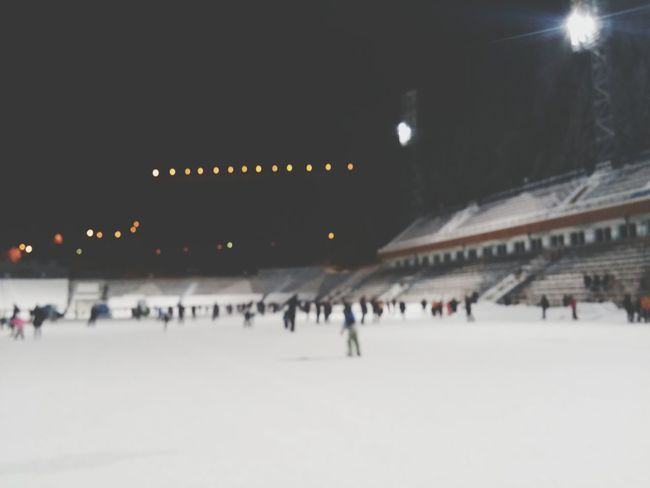 Ice Skating Medeo Winter