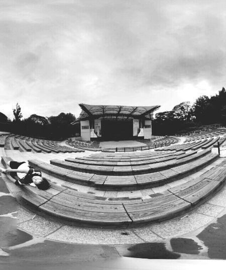 Music Park Blur Day Summer Fish Eye @korea seoul gui-dong