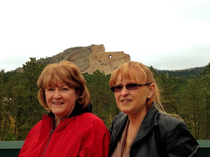 Crazy Horse South Dakota Outdoors Travel Traveling Relaxing Beautiful Outdoor Life Nature Photography Amazing Nature Outdoor Photography Outdoors❤ Adult Two People Portrait Sky Women People Females Nature Leisure Activity Glasses Smiling Front View Lifestyles