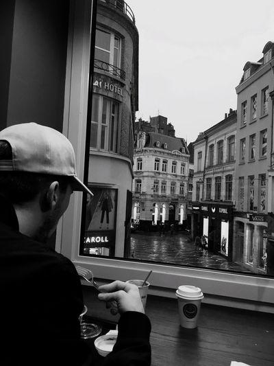 Typical saturday morning 🌧 Rain Nottinghillcoffee Lille Saturday First Eyeem Photo