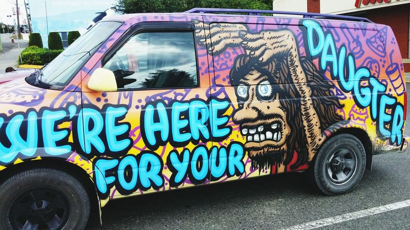 Hippie Van Hippievan Painting ArtWork Art Van Oldschoolcool Cool Random Taking Photos Photoforsale