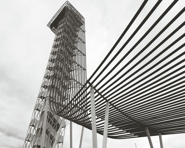 Metal Things Metal Sculpture Metal Art Tower Architecture Lines Shapes Building Curves Architectureporn Architecture
