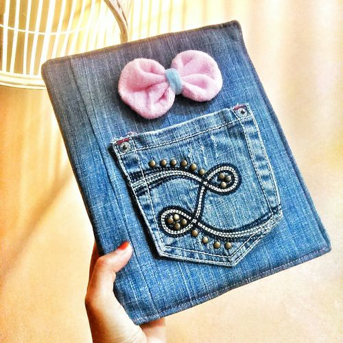 Cover note (recycle dari jeans lama) made by me! ? Crafts Handmade By Me Enjoying Life Eye4photography  Eyeemindonesia