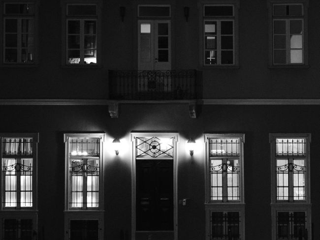 Built Structure Architecture Building Exterior Night No People Illuminated City Outdoors Window Art Windowview Window Window Lights Window Lighting