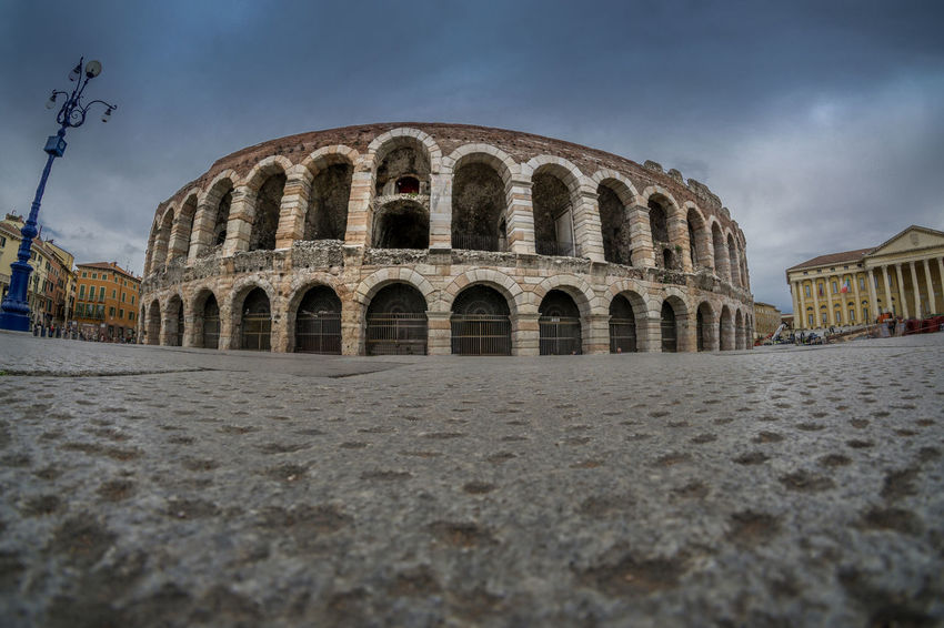 italia Ancient Ancient Civilization Arch Architecture Arena Arenadiverona Building Exterior Built Structure City Day History Italia Italie Italien Italy Italy❤️ Italy🇮🇹 No People Outdoors Sky Travel Destinations Ultra Wide Angle Verona Wide Angle ıtaly