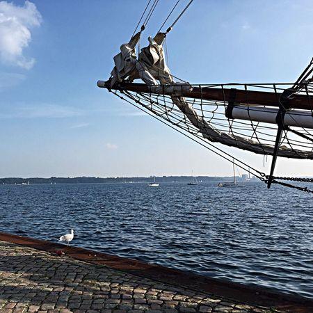 Am Hiltenauer Hafen Going Sailing City Ship Enjoying Life