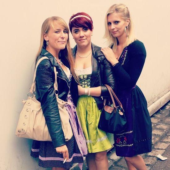 Ma Gurlz I Love You ♥ Dirndltime Oktoberfest 2014