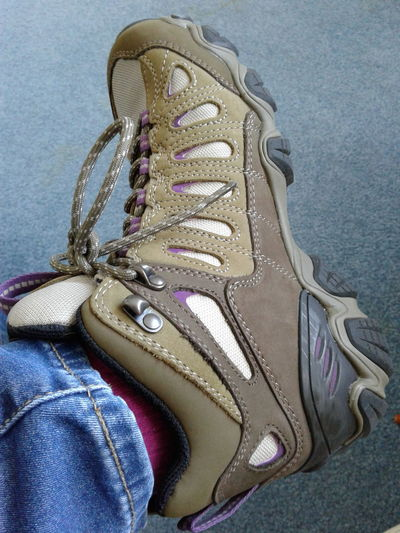 The reason for my absence My Left Foot Bone Spurs Shoe Fashion Hiking Boots Galaxy On5 Obóz