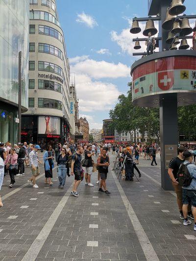 City Crowd