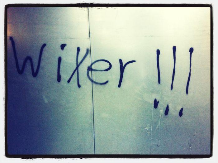 Wichser Streetart