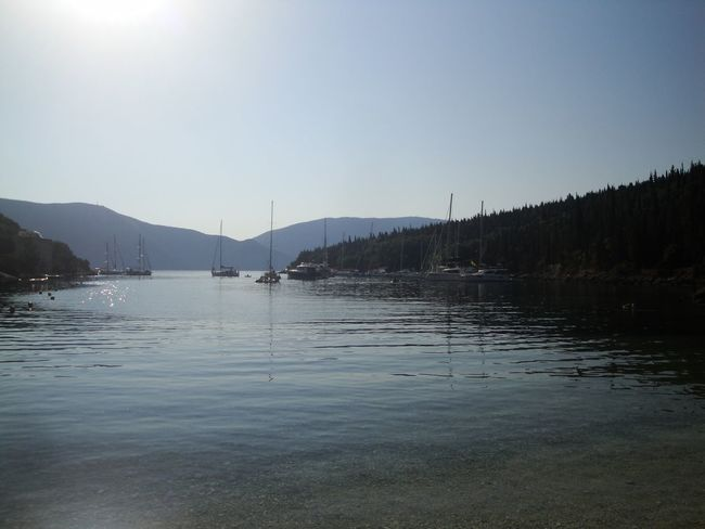 Cefalonia Grecia Water Sky Mountain Beauty In Nature Nature Tranquility Clear Sky Tranquil Scene No People Scenics - Nature Waterfront Day Nautical Vessel Copy Space Transportation Lake Land Outdoors Reflection Sailboat Femalephotographerofthemonth 43GoldenMoments Popular Photos