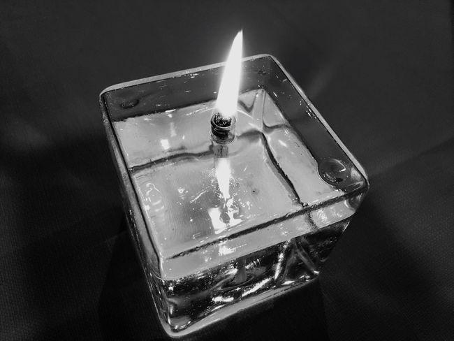 EyeEm Selects Black And White Friday Candle Flame Burning