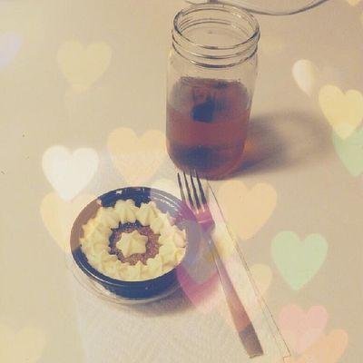 #miniature #carrotcake and #sweettea. Yum! Miniaturefood Minifood Tea Cute Miniature Foodie Carrot KAWAII Foodporn Hooligan Sweettea Carrotcake Teadrinker Teasnob Kawaiifood Cutefood