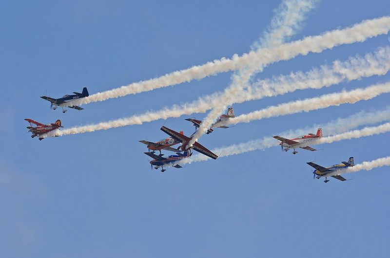 Free Flight World Master Airplane Aircraft Avion Biscarrosse Metting Acrobatic Gironde France Aviation