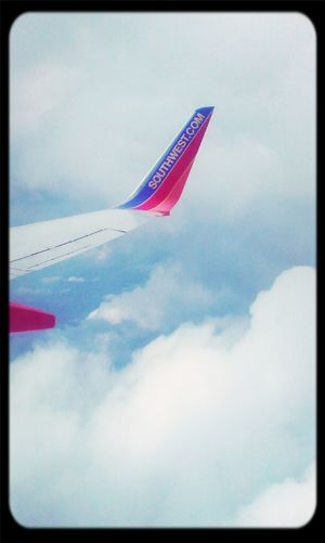 On final approach into Ft. Lauderdale,Florida. Flying Going Home Vacation Southwest Airlines