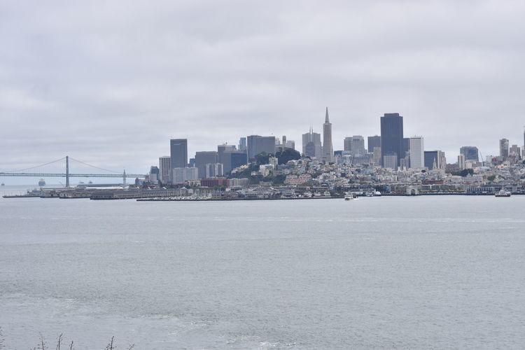 Alcatraz Alcatraz Island Architecture Building Exterior Built Structure Capital Cities  City City Life Cityscape Cloud - Sky Day Modern Office Building Outdoors San Francisco Sanfrancisco Sky Skyline Skyscraper Tall - High The Rock Urban Skyline Water