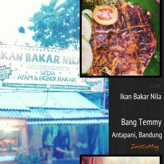 Kulinerbandung ikan bakar nila bang Temmy Di jalan terusan Jakarta 280 Bandung Bandungjuara