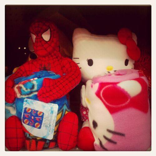 My Hello Kitty & My Babes Spiderman<3 ^.^ Hehe