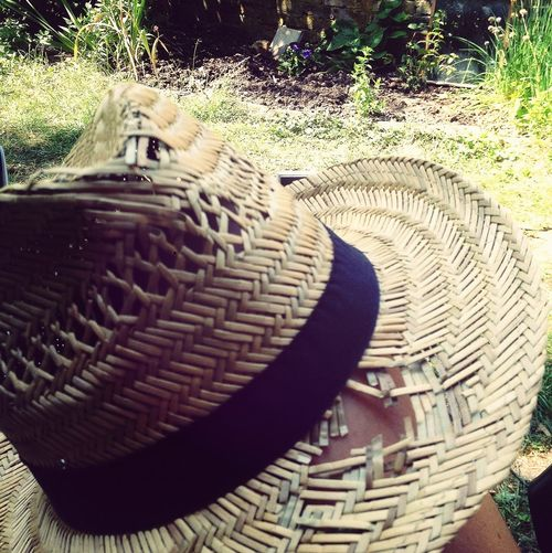 My poor battered hat.. I adore it..