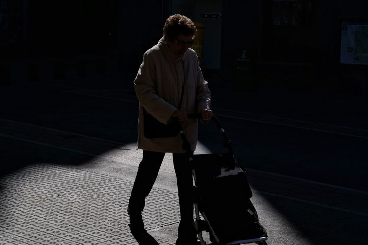 Candid Candid Photography Streetphotography Street Photo Street Photography Contre-jour Light And Shadow The Art Of Street Photography Full Length Standing Focus On Shadow Paved Pavement Long Shadow - Shadow