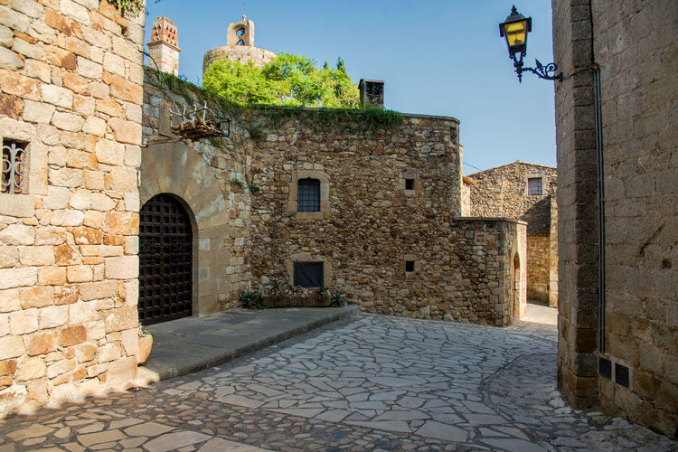 Architecture Architecture_collection Cobblestone Streets MedievalTown Mediterranean  Summertime Tranquility Travel Travel Photography Ancient Architecture Building Exterior Built Structure Castle Cobblestone History Medieval Medieval Architecture No People Outdoors Street Street Photography Streetphotography Summer Travel Destinations