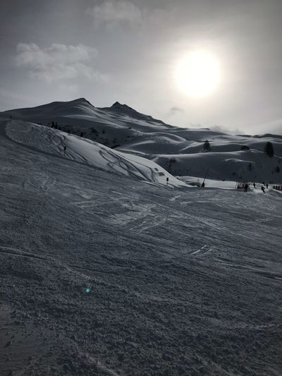 skiing Sky