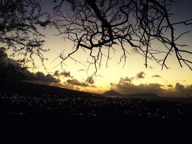 Sunrise,In Oafu.