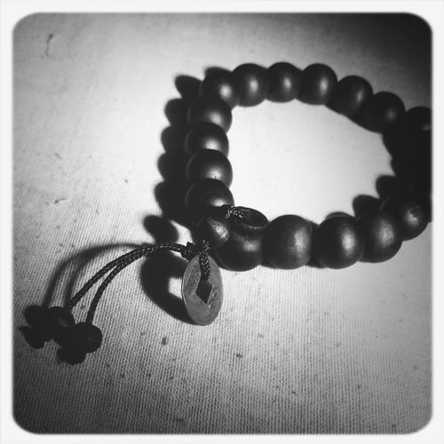 Buddha Beads Eyeem Philippines Eyeemblack&white Cellphone Photography Light And Shadow