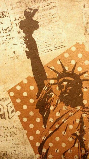 Polka Dot Polka Dots  New York Random EyeEm Best Edits EyeEm Best Shots Eyeem Best Photos EyeEm Best Pics Statue Of Liberty