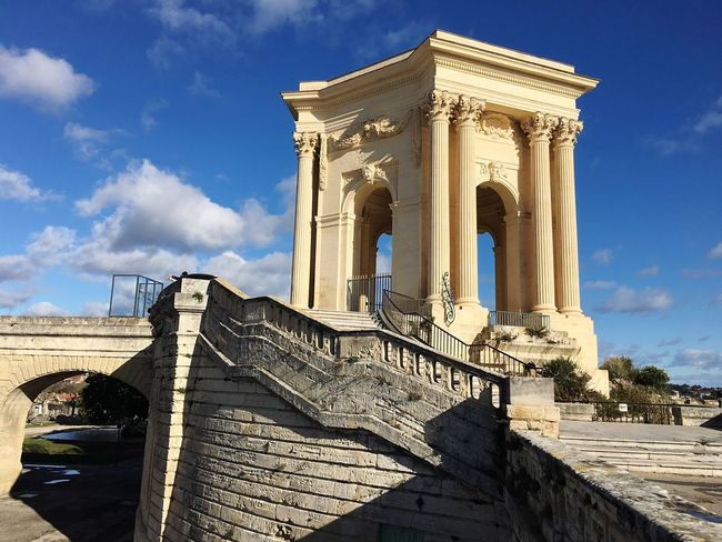 Monuments France City History Historical Building Montpellier