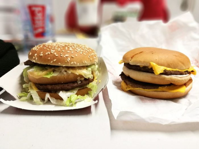 Hamburger Unhealthy Eating Bun Burger Food Food And Drink Fast Food