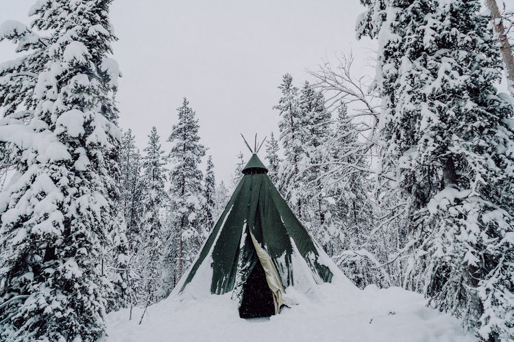 The Great Outdoors - 2018 EyeEm Awards The Traveler - 2018 EyeEm Awards Beauty In Nature Cold Temperature Covering Day Finnland Forest Hut Nature Outdoors Plant Scenics - Nature Snow Snowing Tranquil Scene Tranquility Travel Destinations Tree White Color Winter