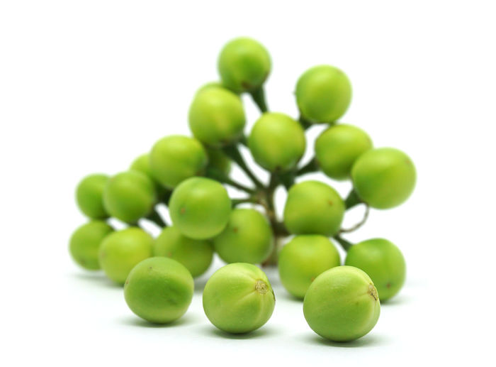 Close-up Cut Out Focus On Foreground Food Food And Drink Freshness Fruit Grape Green Color Group Of Objects Healthy Eating Indoors  Leaf No People Pea Eggplant Plant Plant Part Still Life Studio Shot Wellbeing White Background